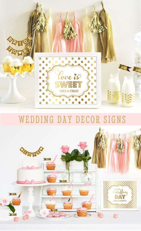Items Similar To Wedding Day Decor Sign Dessert Table Love Is Sweet Candy Buffet Decorations Ideas Printed Only On Etsy