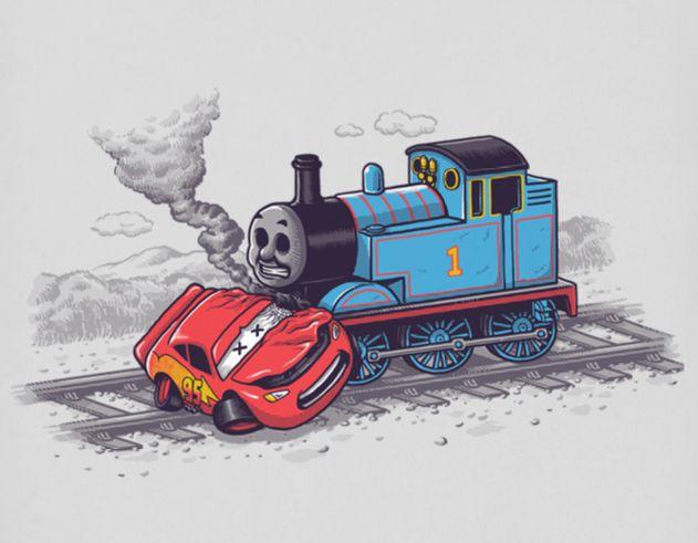 2621 Kreatív, ötletes és néhol megbotránkoztató illusztrációk egy tehetséges művésztől