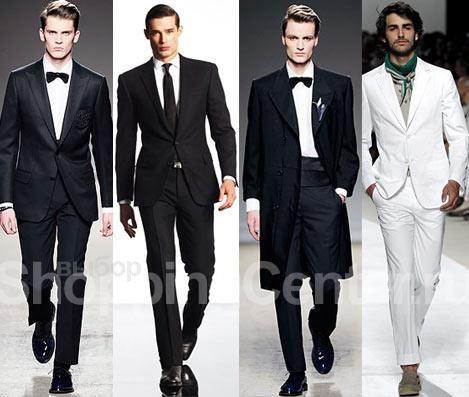 Мужская мода свадебный костюм