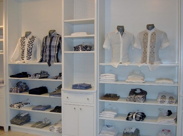 Only part of our men selection in the Broadway Plaza store.  Stop by and visit us at 31 Broadway Lane.