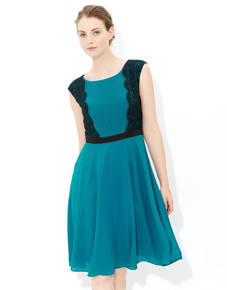 Emerald dress | Blue | Monsoon