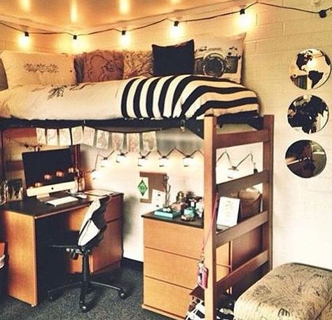 20 Dorm Rooms So Stylish Youu0027ll Wish They Were Yours Part 17