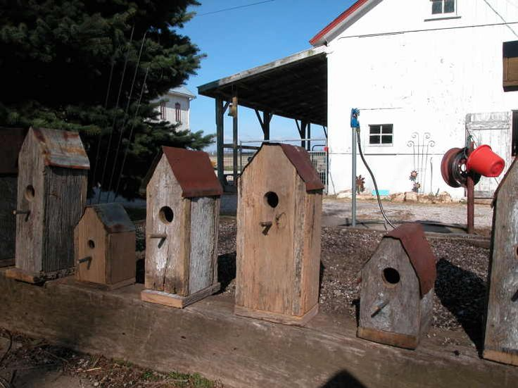 Projects for our old fence boards