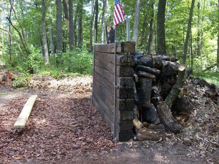 Backyard Archery Range Backstop : Gun range backstop  For the love of guns  Pinterest