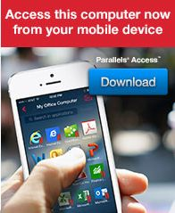 Parallels Access offers the fastest, simplest and most reliable remote access from your mobile device (iPhone, iPad, Android Phones and Tablets)