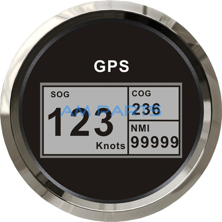camping with kids KUS Boat GPS Speedometer Electric Marine Truck Car RV Digital LCD Speed Gauge SOG COG Knots Compass With GPS Antenna 85mm -- Click the image to visit the AliExpress website