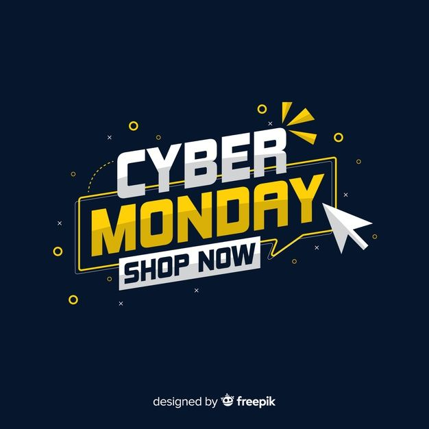 Download Cyber Monday Concept Making You Shop Now For Free Cyber Monday Design Free Graphic Design Graphic Design Advertising