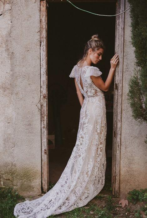 immaclé colección tánger: vestidos de novia bohemios con toque