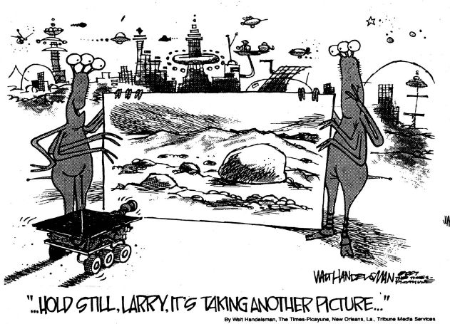 Why we'll never find life on Mars...