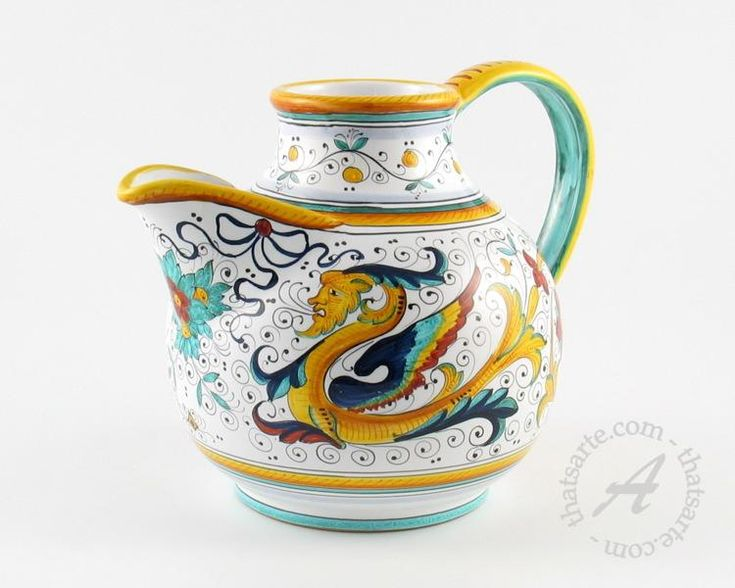 107 best Italian Pottery-Majolica images on Pinterest ...