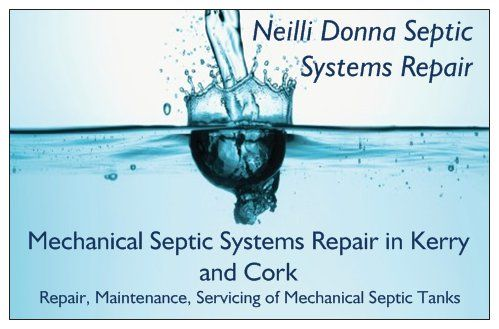 Kerry Cork Mechanical Septic Tank Repair