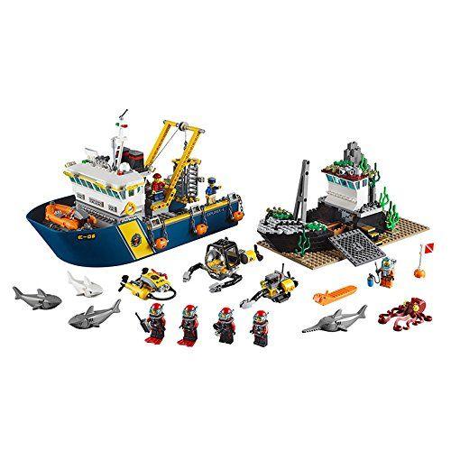 lego city 60095 jeu de construction le bateau dexploration amazon