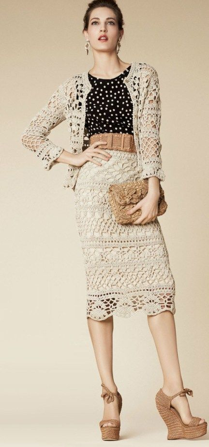 15 Free Crochet Skirt Patterns | My Craft Bay