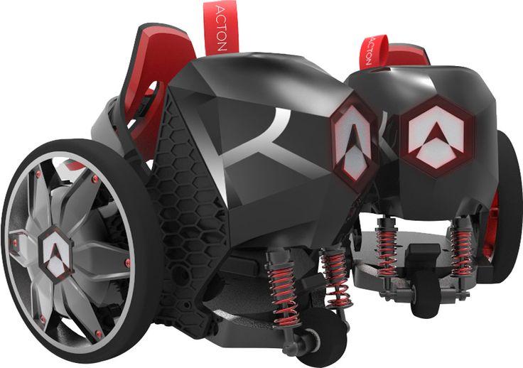 Avec ses R RocketSkates, Acton propose une évolution de ses rollers spnKiX