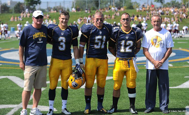 2012 Gino Fracas Scholarship Recipients 2012-13 Lancer Football, Credit: Edwin Tam