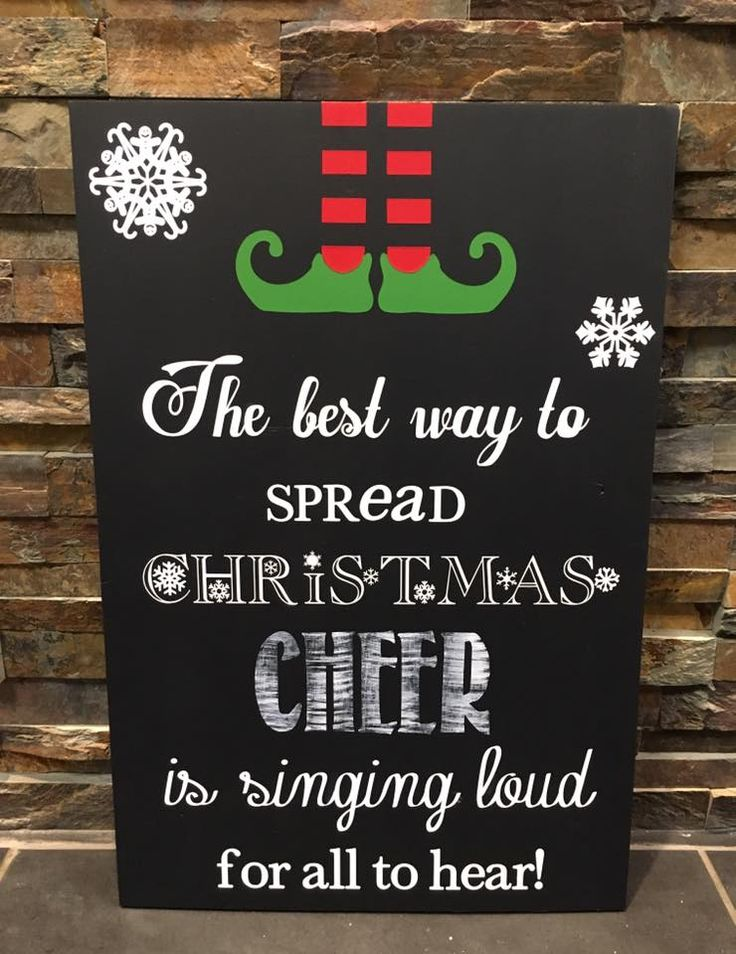"""""""Son of a nutcracker!"""" It's a Christmas custom wooden painted sign for a family of Buddy the Elf fans. Visit our Facebook page at www.facebook.com/PepperCreekCraftsmanCo"""