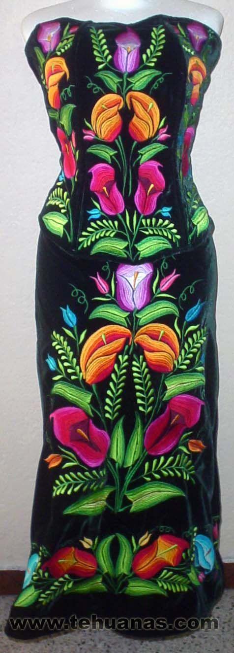 Vestido típico mexicano