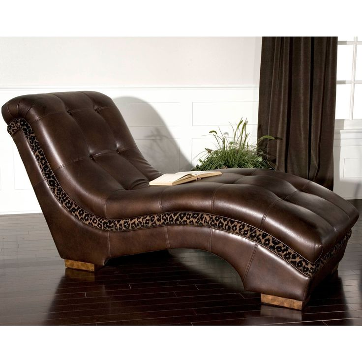 20 best leather furniture images on pinterest leather for Animal print chaise longue