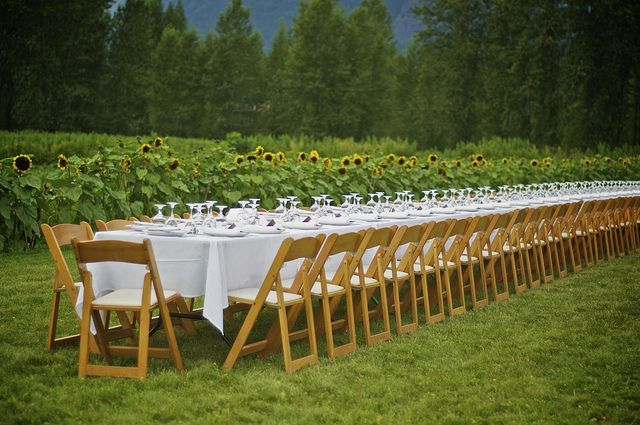 Araxi Long Table Series x Outstanding in the Field at North Arm Farm in Pemberton, BC