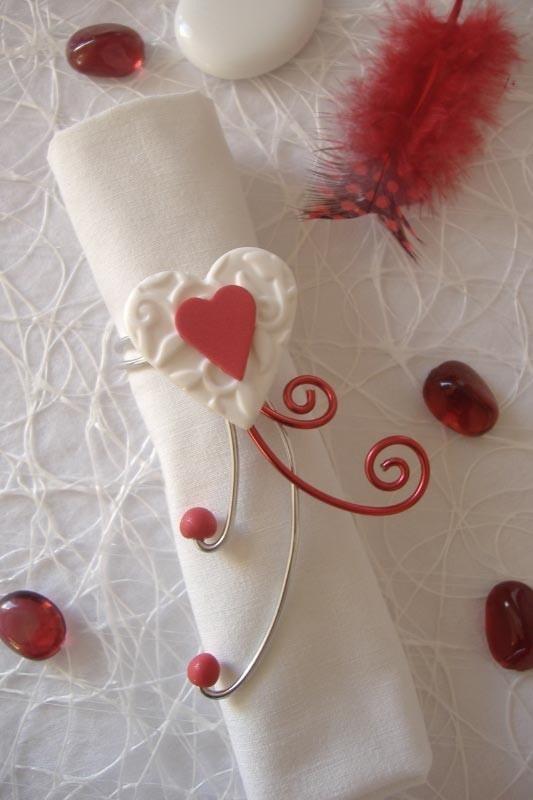 105 best d co de table rouge et blanc images on pinterest red marriage and red wedding - Decoration de table pour mariage ...