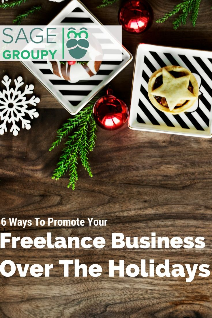 Holiday Marketing Ideas For Freelancers. #freelancemarketing