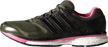 adidas glide boost 6 woman olice green pink - Google Search