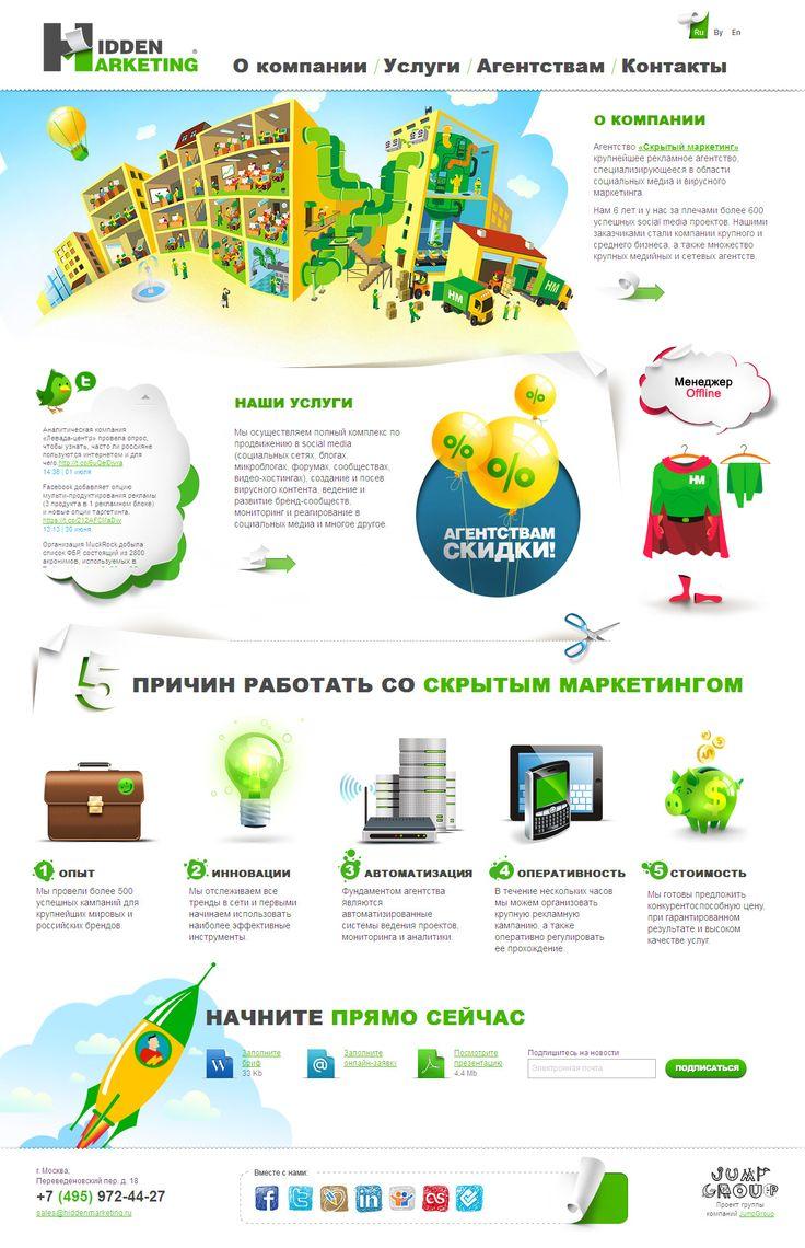 SMM услуги Hidden Marketing.