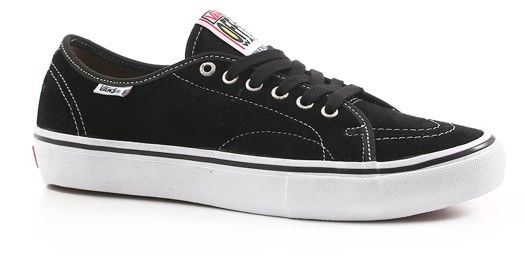 Vans AV Classic Pro Skate Shoes - black/white - Free Shipping