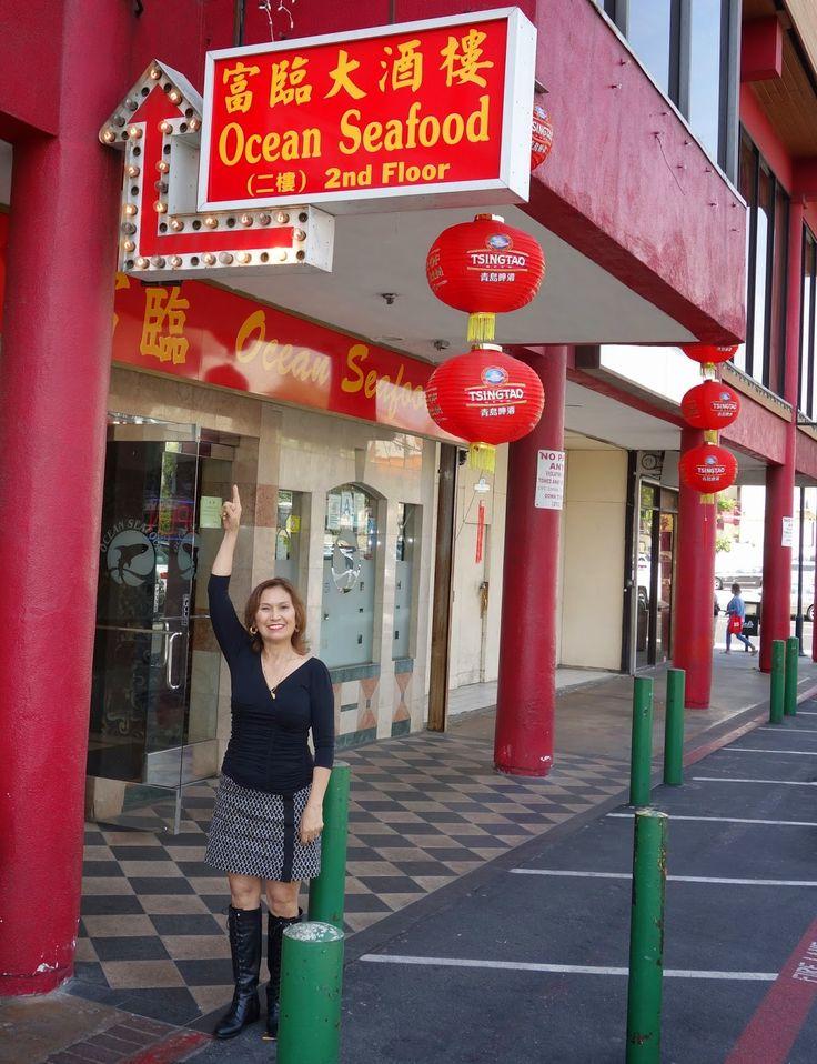 Restaurant Review: Dim Sum at Ocean Seafood, Chinatown, Los Angeles, California