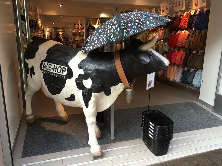 Art cow at La Gomera