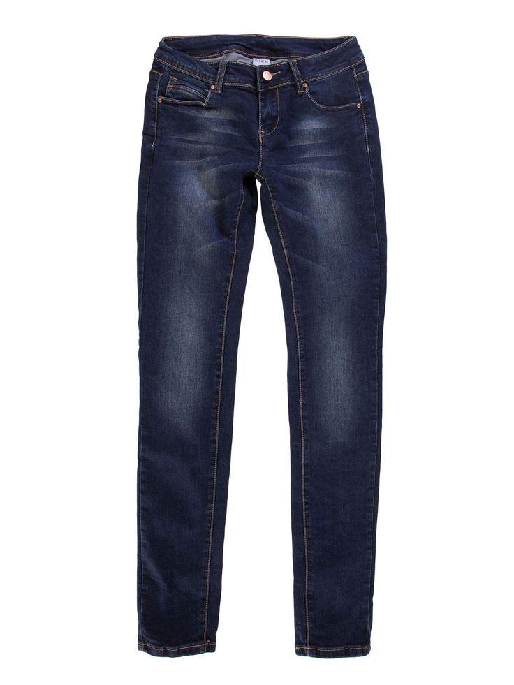 Spodnie damskie rurki, z kieszeniami, z rozporkiem gładkie długie - XSJ0060 - odzież damska - txm24.pl granatowe