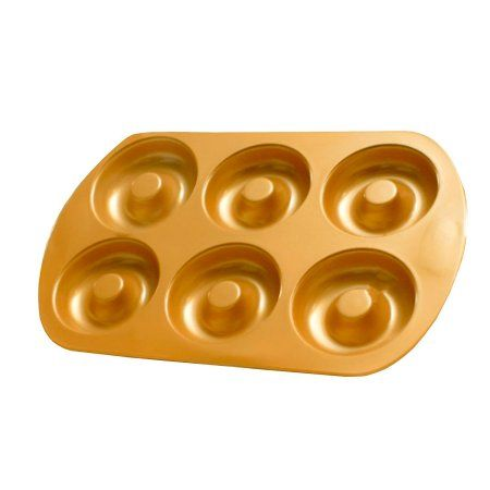 Free Shipping. Buy Red Copper Bakeware Set (Donut Pan) By Bulbhead at Walmart.com