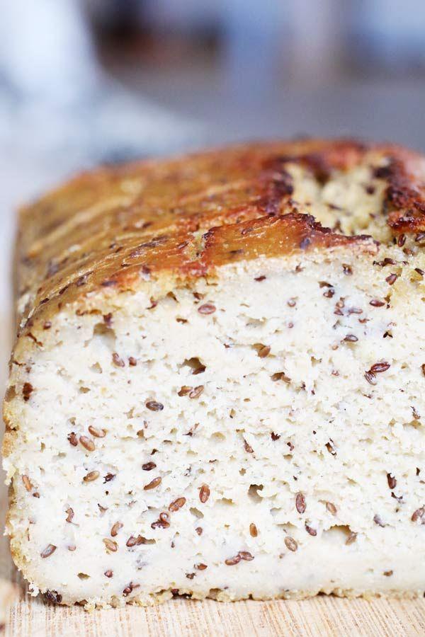 Pane di Quinoa con Lievito Madre e Semi di Lino è la ricetta di un pane Senza Glutine a Basso Indice e Carico Glicemico realizzato con lievito madre.