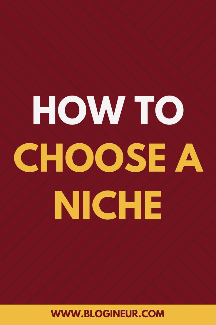 Want to learn how to choose a niche? Check out this helpful post on how to choose a niche. #niche #blogging #blog