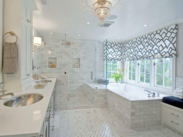 Die besten 25+ Badezimmer mit weißen Fliesen Ideen auf Pinterest - badezimmer fliesen streichen