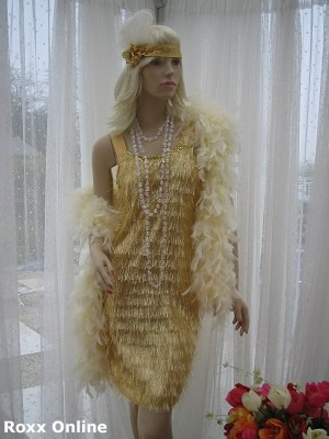 1920's flapper girl gangsters mol outfit costume