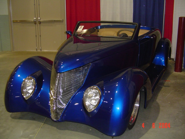 1937 Ford Rag Top Street Rod