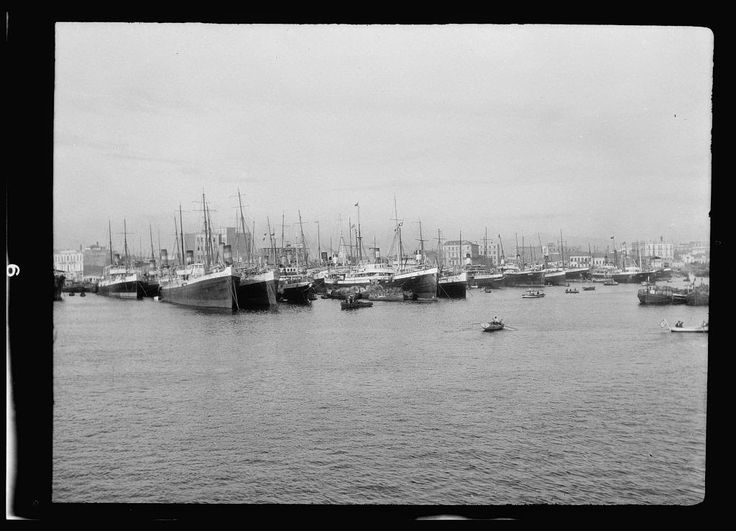 View of Piraeus from the sea, 1900 - Photographs of Athens in the Late 19th and Early 20th Century  Best of Web Shrine