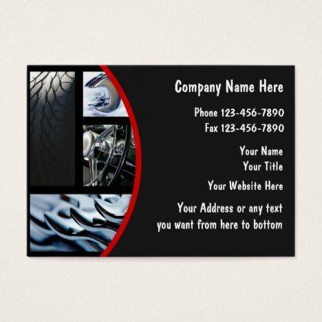 Automotive Business Cards #autorepair #businesscards #bodyshop