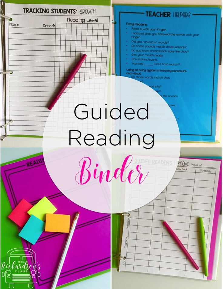 Everything you need to organized your guided reading groups, reading conferences, and track students' growth is included in this binder! Guided reading made simple!!