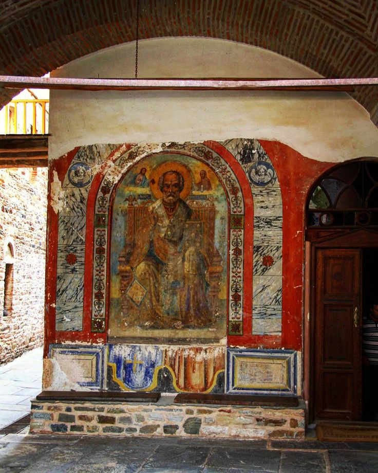 Монастырь Ставроникита Афон. Фото Александра. by garri200545