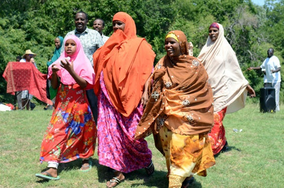 Fashion, Food, Dancing Mark World Refugee Day in Vickery Meadows - Unfair ParkWomen Dresses, Bold Colors Dresses, African Men, Ten Women, Men Singing, Dresses Dance, Fashion Food, Long Bold Colors, Dance Mark