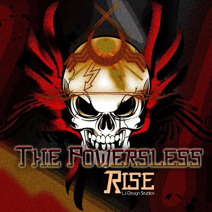 Official cover Font Tee powerless Rise