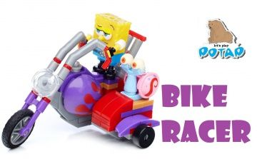 Spongebob Squarepants Mega Bloks Bike Racer Unboxing Спондж Боб на Мотоцикле Игры для Мальчиков http://video-kid.com/16096-spongebob-squarepants-mega-bloks-bike-racer-unboxing-spondzh-bob-na-motocikle-igry-dlja-malchi.html  Spongebob Squarepants Mega Bloks Bike Racer Unboxing. Review - is a super cool video, where we will review and do the unboxing of a super cool toy from Mega Bloks and Nickelodeon Cartoons Spongebob Squarepаnts riding on a bike as a Bike Racer!!! This review of a Bike…