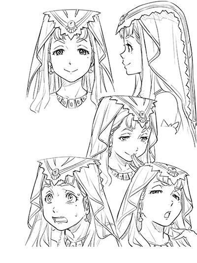 「翠星のガルガンティア」アニメ公式サイト | キャラクター | クラリア