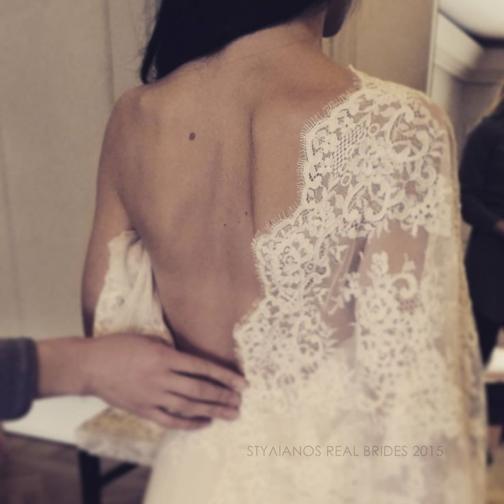 STYΛIANOS Atelier - Pre fitting procedure. Passion, love, patience, creativity and the best material... can you guess the result? #ilovestylianos #kolonaki #atelier #greekdesigner #hautecouture #ftv #instafashion #sexy #lace #french #luxuryfashion #fashionbloggers #bridal #newbridalcollection #nyfiko #weddingdress #stylianos #lowback #lacedress #fitting #passion #fashion
