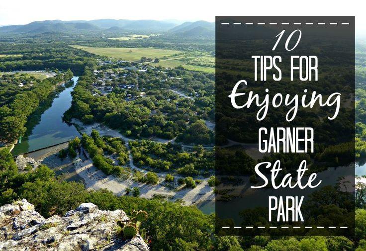 10 Tips for Enjoying Garner State Park in Concan, Texas.