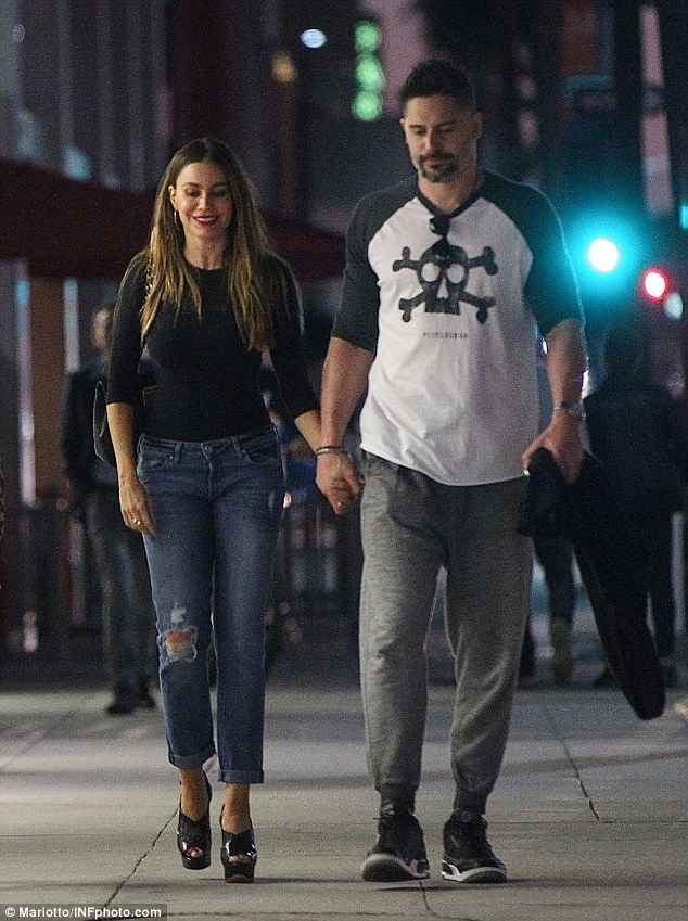 No wonder she's smiling! Sofia Vergara and husband Joe Manganiello enjoyed a night out in Beverly Hills on Tuesday. The Modern Family star has just been named the world's richest TV actress for the fifth year in a row by Forbes magazine