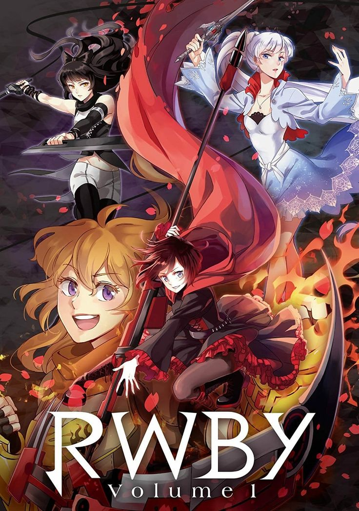Pin by Stephanie on Team RWBY (With images) Rwby anime