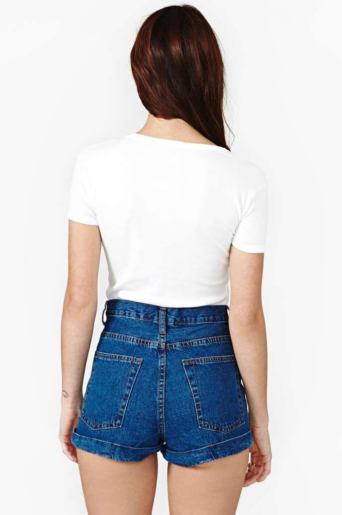 Shorts altos detalle